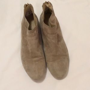 Barney's NY suede booties, size 40